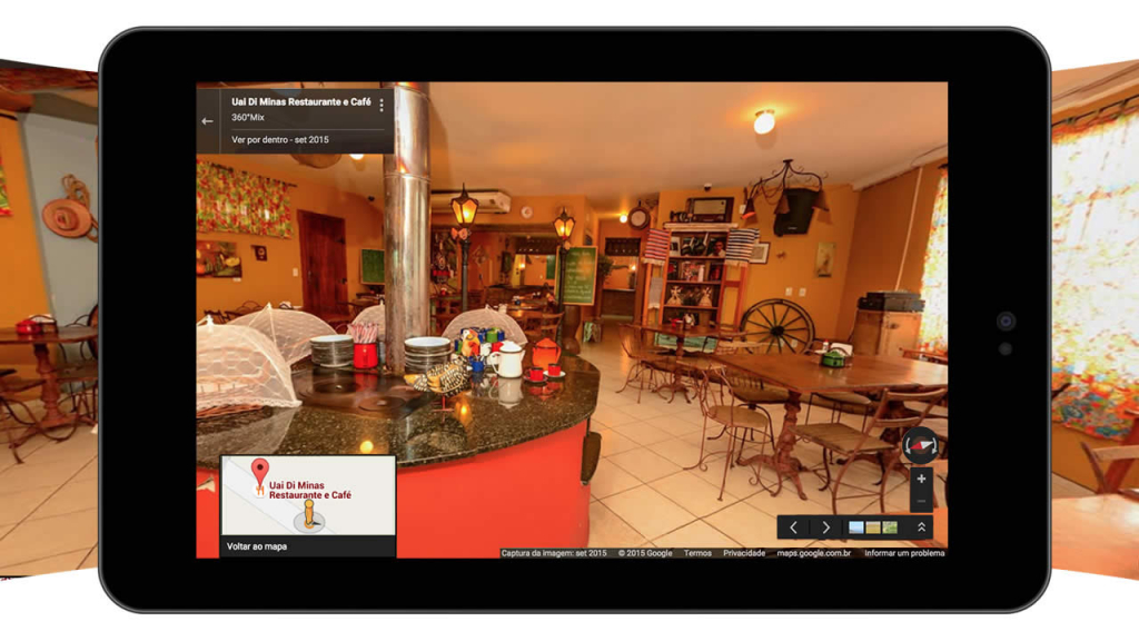 Ver Por Dentro no Google Business View